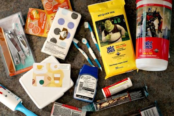 Items for a teacher survival kit