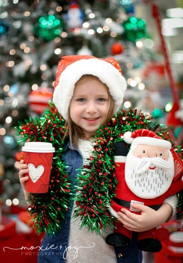 Target Starbucks Santa
