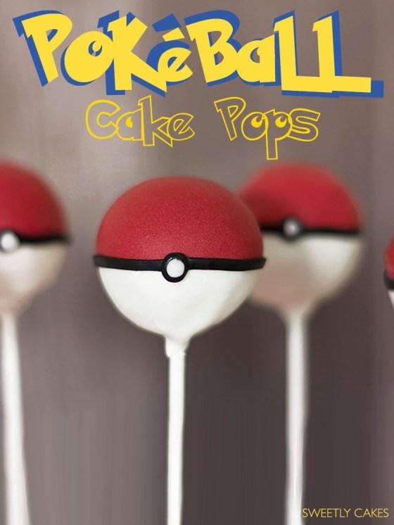 Pokéball Cake Pops