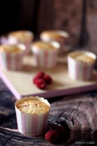 Cupcakes framboise et chocolat blanc