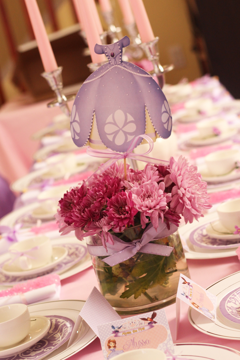 Sweetly Feature Sofia The First Royal Tea Party