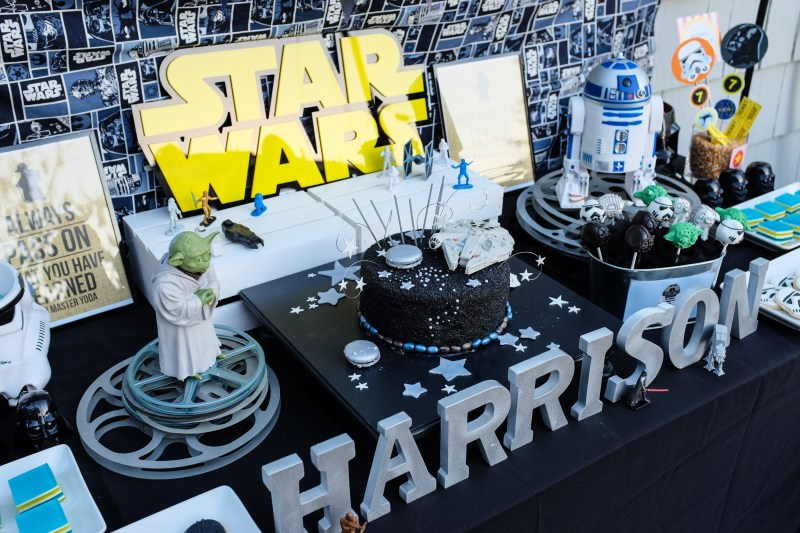 Large Of Star Wars Party
