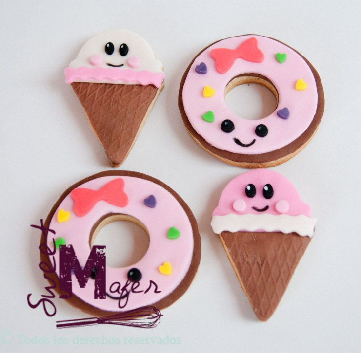 Galletas Decoradas Infantiles Galletas Kawaii