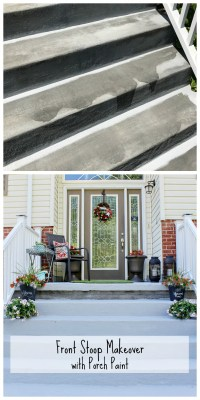 Door Stoop & Front Stoop For A Traditional Entry With A ...