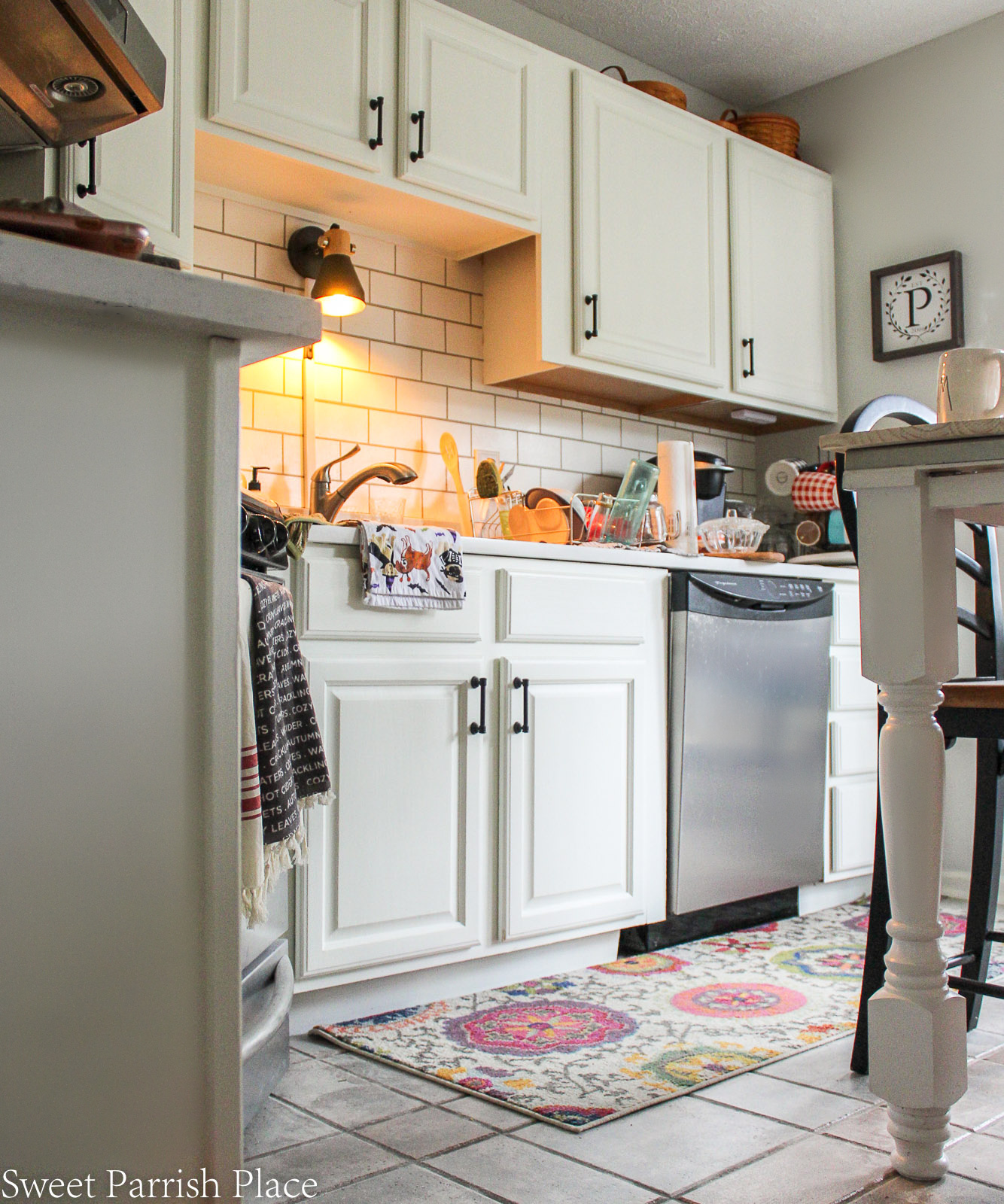 Images Of Painted Kitchen Cabinets White Painted Kitchen Cabinets Sweet Parrish Place