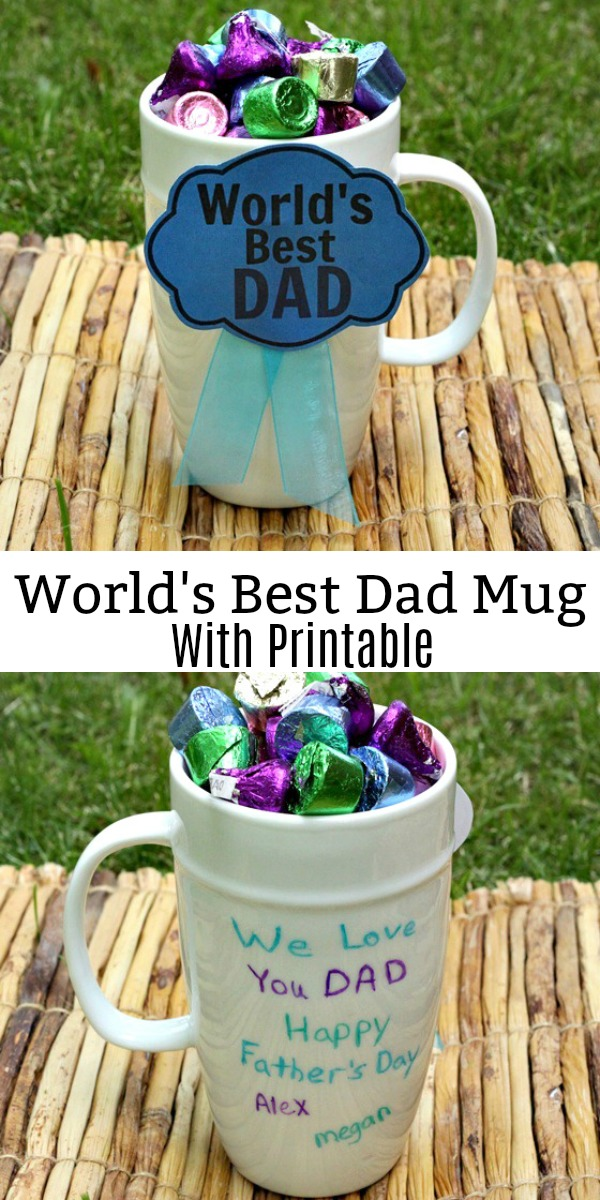 Father\u0027s Day Worlds Best Dad Award DIY With Free Printable - Sweet