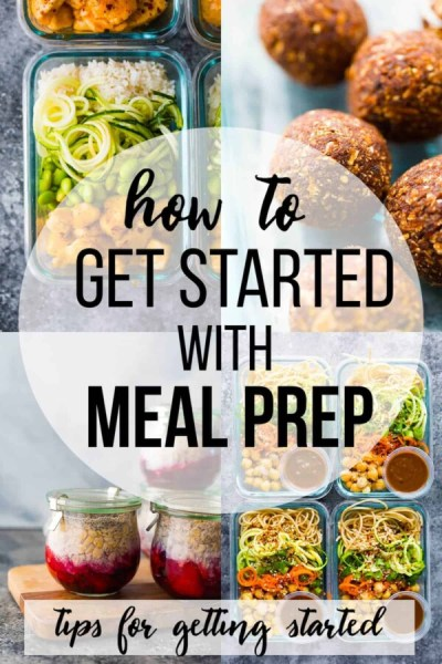 How to Meal Prep for the Week (tips to get started) | Sweet Peas and Saffron