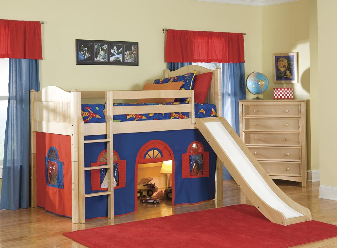 Kids Bed With Slide Working Projcet Buy Bunk Bed Plans Full Size