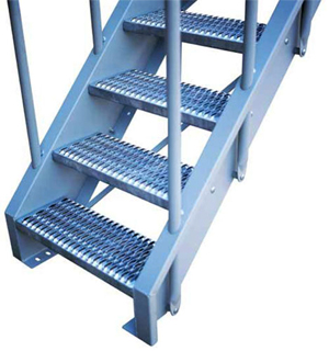 Model 01aa 02aa Bolted Industrial Metal Stairs Lapeyre