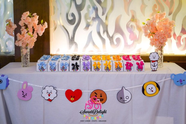 Bts Decoration Sweets Delight – Party Planner, Sweet Corner, And Goodie