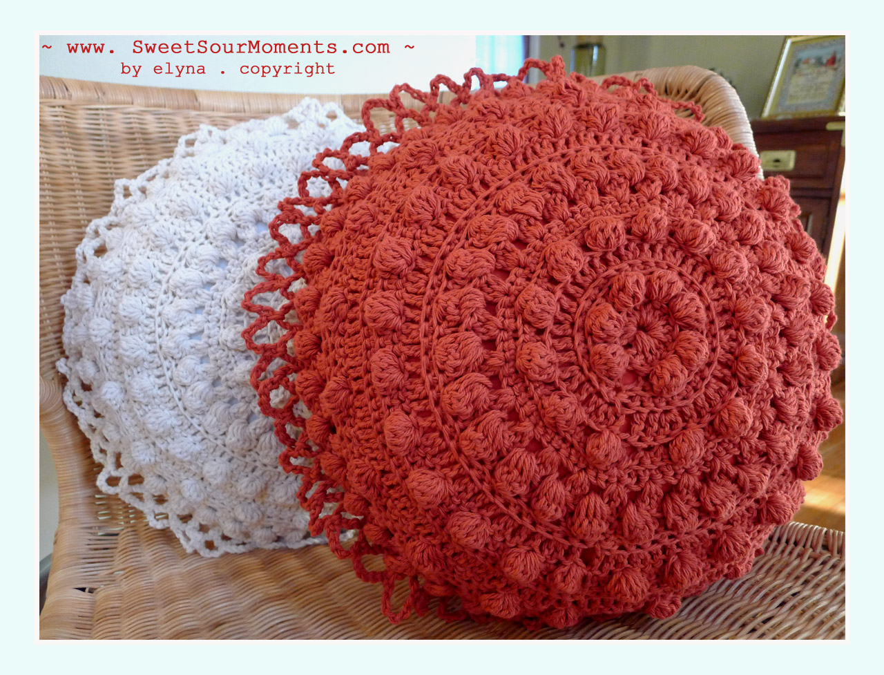 Free Crochet Patterns For Round Pillows Pakbit For