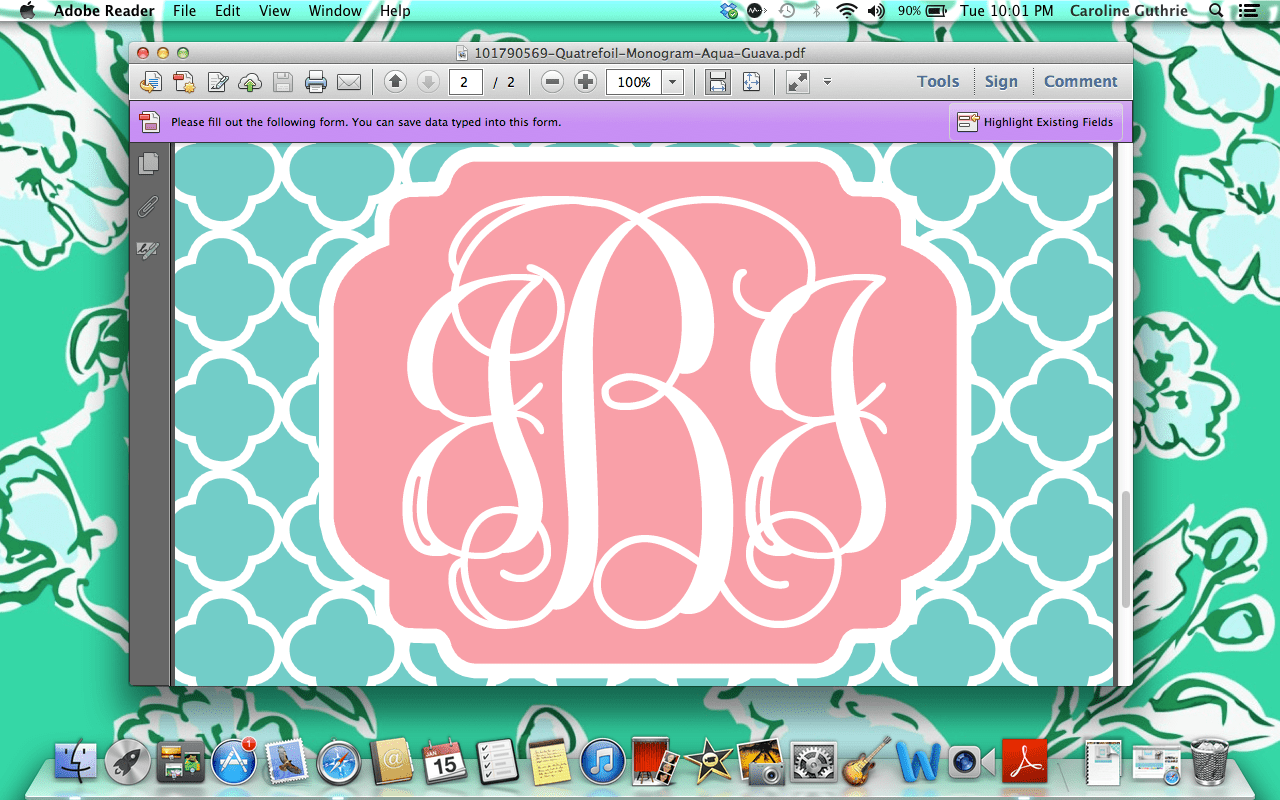 Cute Wallpapers First Initial Letter A Create Monogrammed Iphone Wallpapers In 10 Easy Steps
