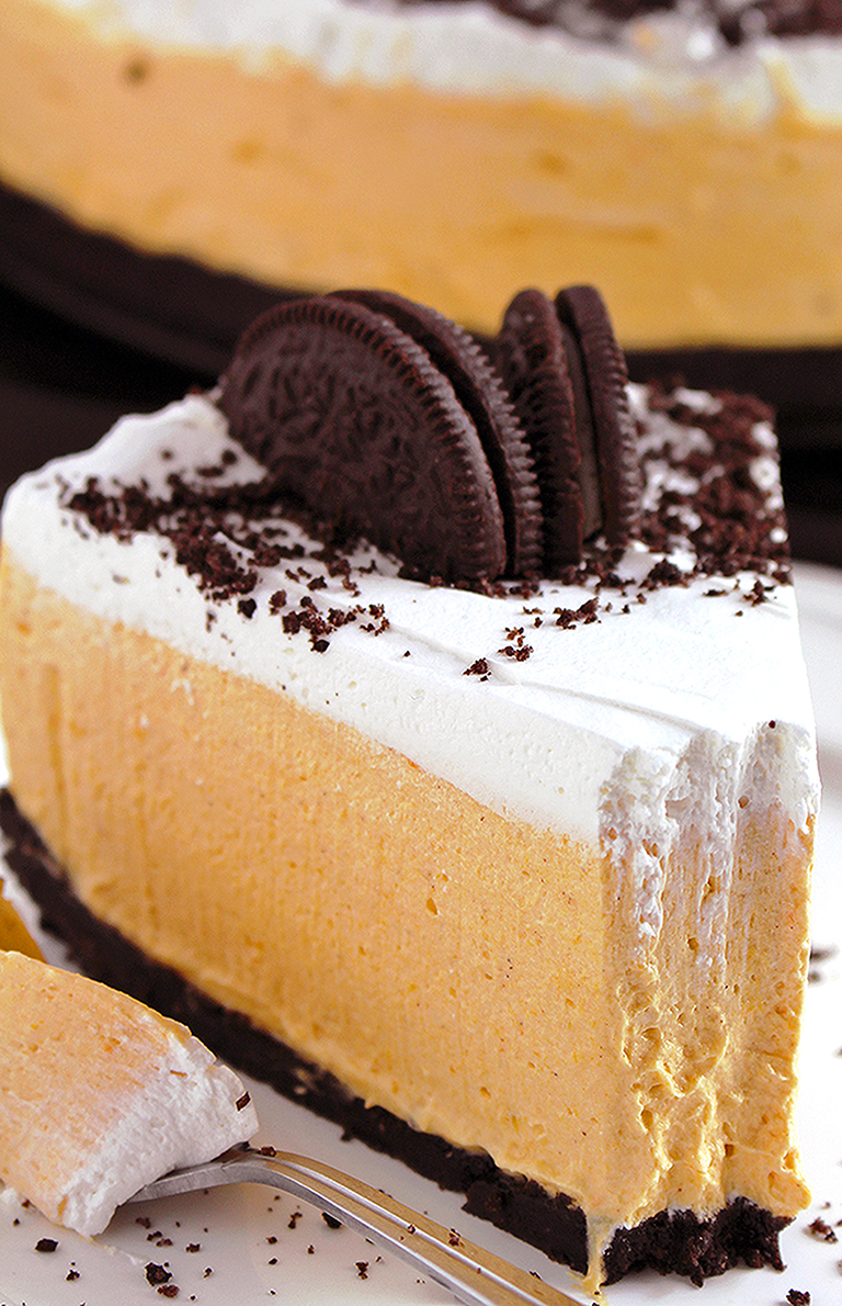 No Bake Oreo Kuchen No Bake Pumpkin Oreo Cheesecake