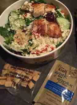 Idyllic Cbc Kale Salads Spot Nutrition Mcdonald S Southwest Salad Mcdonald S Southwest Salad No Dressing
