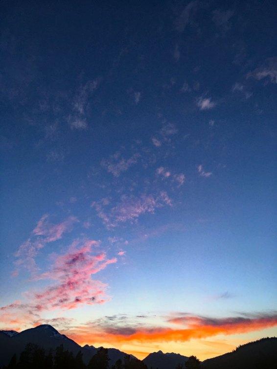 pemberton sunsets.