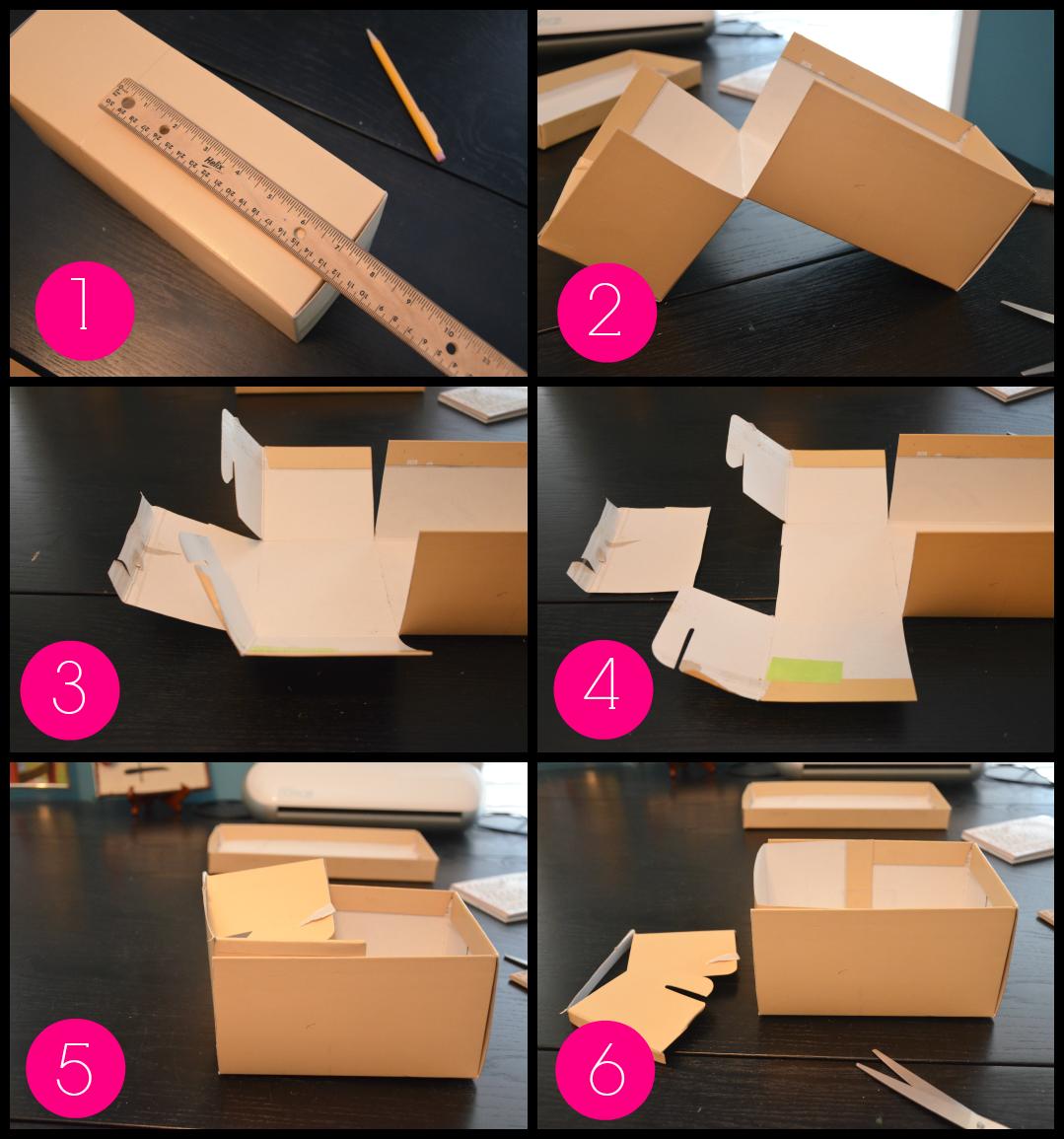 Diy Recipe Box From A Shoebox Sweet Tea Saving Grace