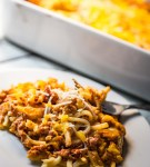 Four Cheese Baked Spaghetti with Ragu Homestyle