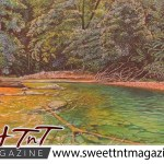 Artist Cliff A Birjou, Matura River, Sweet T&T, Sweet TnT, Trinidad and Tobago, Trini, vacation, travel