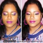 Kavita Marajh makeup, Sweet T&T, Sweet TnT, Trinidad and Tobago, Trini, vacation, travel