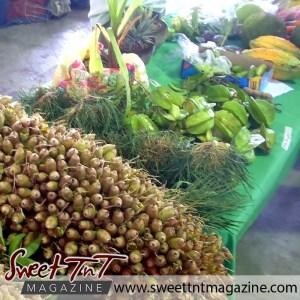 Tableland food fiesta. Fruits on display.
