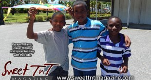 Boys with kite, Kesaun Williams, Dejaun Williams and Nyrib Anthony to go kite flying in Sweet T&T, Sweet TnT, Trinidad and Tobago, Trini, vacation, travel