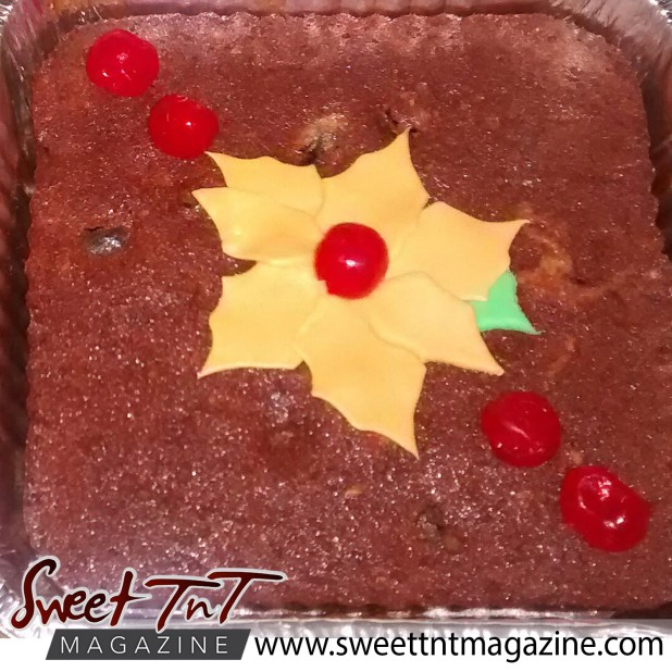 Food - Fruit cake by Radha Ramoutar.