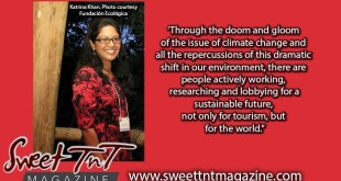 Katrina Khan in Punta Cana for Environmental symposium, photo Fundacion Ecologica, climate, tourism Sweet T&T, Sweet TnT, Trinidad and Tobago, Trini, vacation, travel,