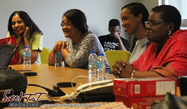 Mentors enjoy a presentation at Launch Rockit in sweet t&t for Sweet TnT Magazine in Trinidad and Tobago
