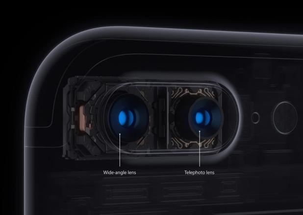 A demonstration of how the dual camera works on the new iphone 7 plus Photo credit: forbes.com
