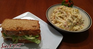 Chicken salad sandwich in Sweet T&T