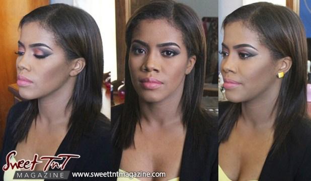 Cassandra Regis. Makeup by Brianna Taylor.