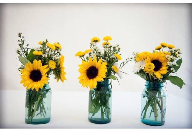Country Chic Sunflower Wedding From Casey Durgin Photography