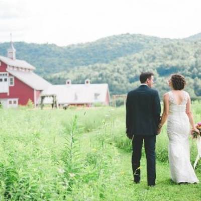 Romantic Vermont Wedding at West Monitor Barn