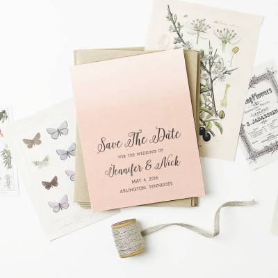 Spotlight: Custom Wedding Stationery from Basic Invite