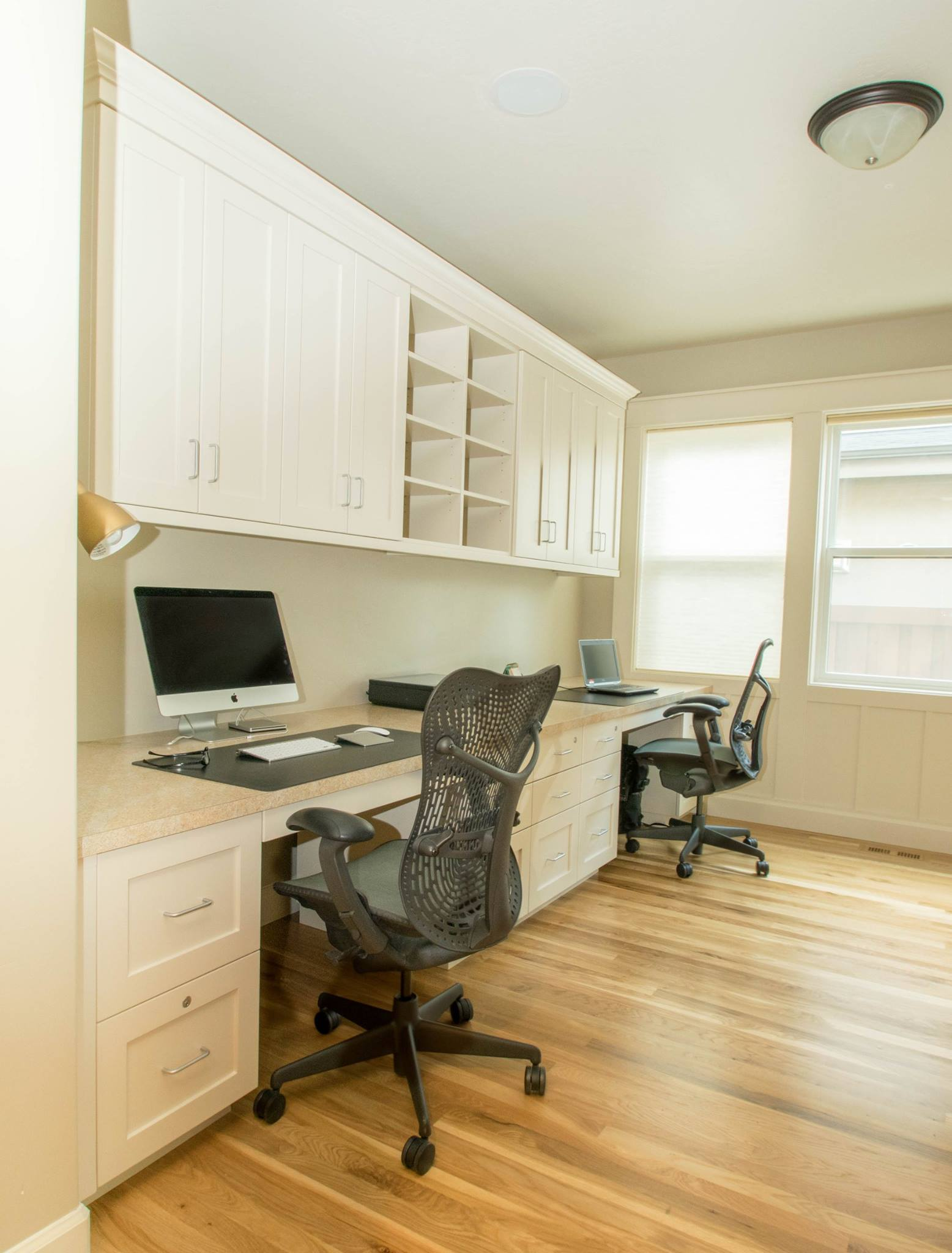 Home Office Cabinets Custom Cabinets Make For The Ultimate Home Office