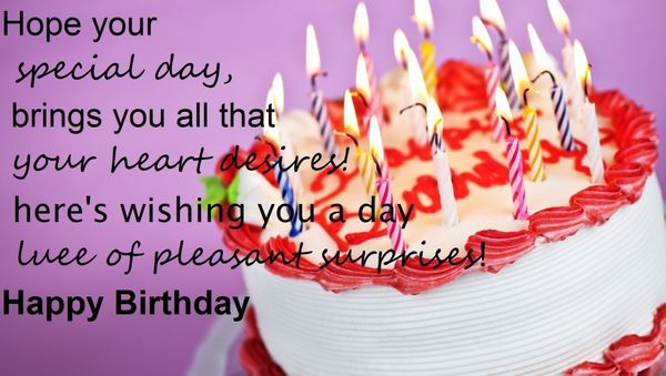 Inspirational Birthday Quotes and Wishes with Pictures