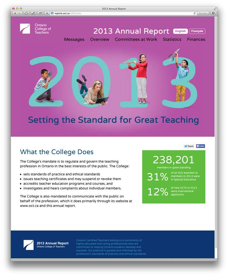 Annual Report Design, Toronto Swerve Design Group Inc