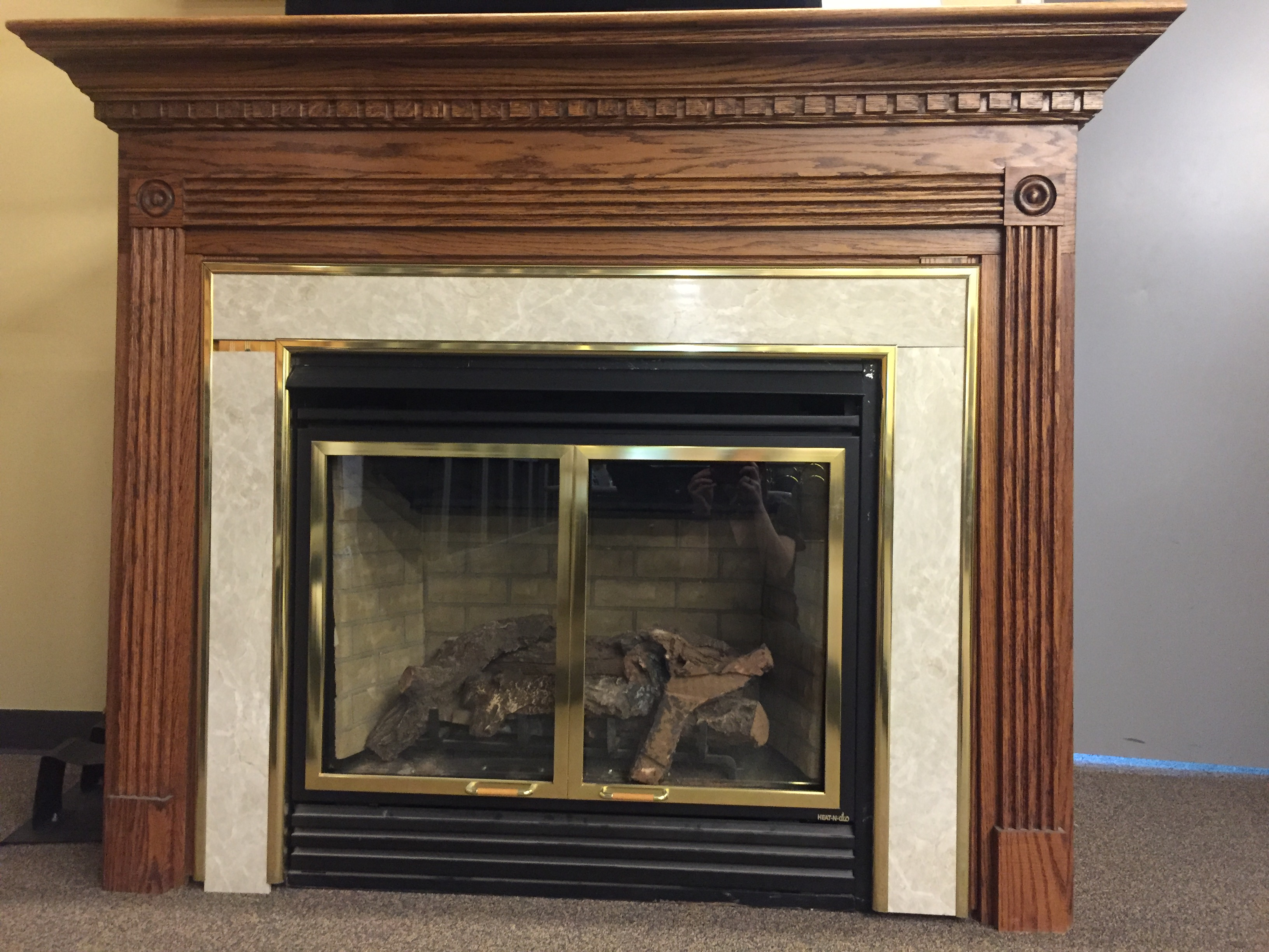 Heat N Glo Gas Fireplace Direct Vent Vent Free Fireplace Closeouts
