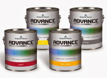 Benjamin moore advance waterborne interior alkyd paint for Benjamin moore paint program