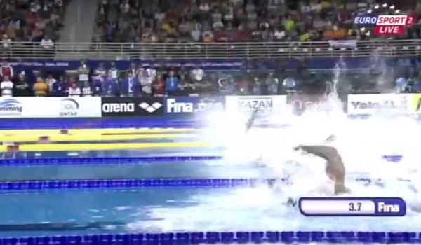 競泳世界最速の男たちの映像