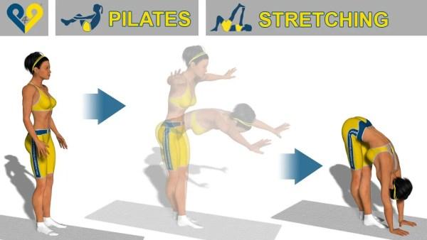 下半身の柔軟性を引き上げるストレッチ