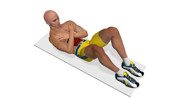 腹筋を1から鍛え直す、ベーシック腹筋