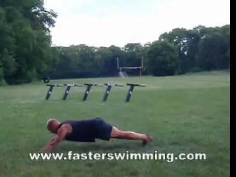 競泳に効く、スタビライゼーショントレーニング5選