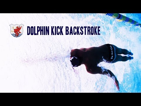 背泳ぎのキックをより進むようにする為の練習方法