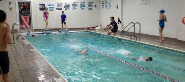 Swim Classes With Four Swimming Lanes (Currently divided into two)