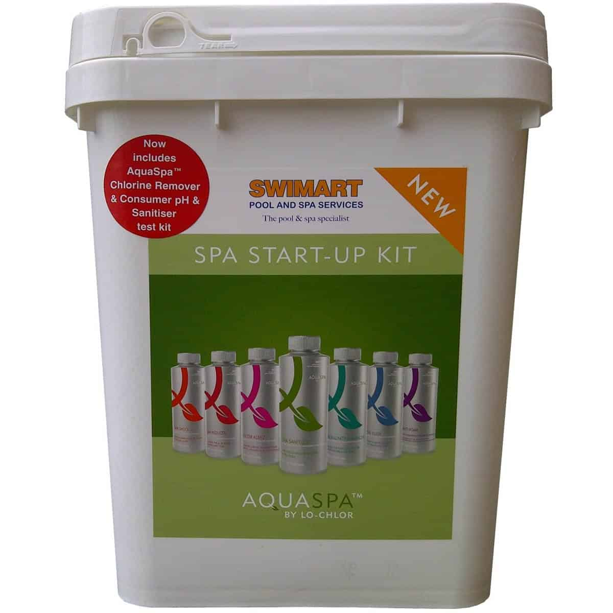 Chlor Pool Test Aquaspa Spa Startup Kit Swimart
