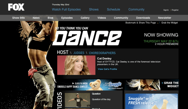 Dance Host Page with Cat Deely