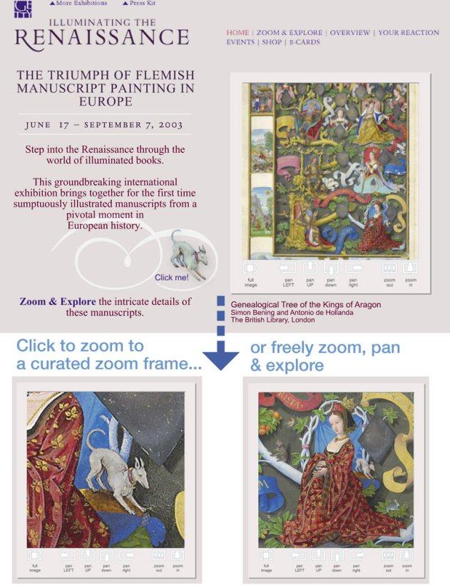 """Genealogical Tree of Kings of Aragon"" zoom & explore"