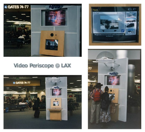 Video Periscope Kiosk