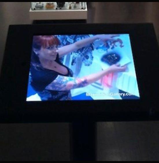 Art Gallery Kiosk